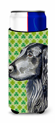 Flat Coated Retriever St. Patrick's Day Shamrock Portrait Ultra Beverage Insulat