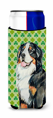 Bernese Mountain Dog St. Patrick's Day Shamrock Portrait Ultra Beverage Insulato