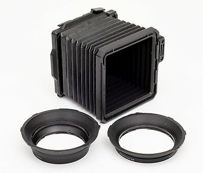 Hasselblad Proshade 6093 with H67 and H77 adapters | Bellows Lens Shade