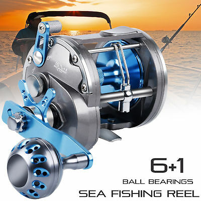 Saltwater Fishing Reel Trolling High Speed Tuna Sea Fishing Big Game Powerful
