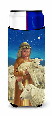Shepherd and his sheep Ultra Beverage Insulators for slim cans