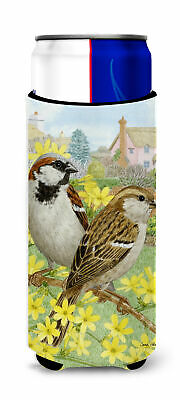 House Sparrows Ultra Beverage Insulators for slim cans