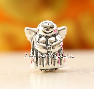 Authentic Pandora Angel of Hope Silver Charm #790337
