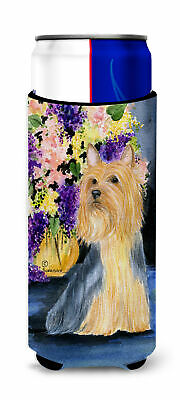 Silky Terrier Ultra Beverage Insulators for slim cans