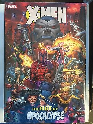X-MEN: AGE OF APOCALYPSE OMNIBUS HC 1st Edition (2012, Hardcover) New & Sealed
