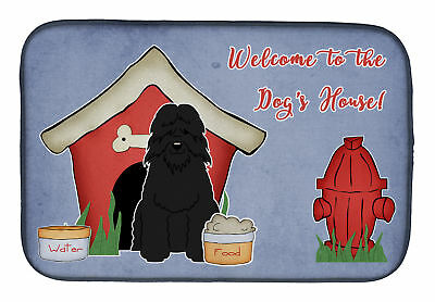 Dog House Collection Bouvier des Flandres Dish Drying Mat