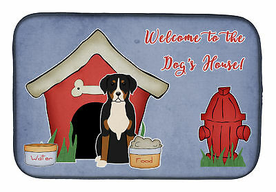 Dog House Collection Greater Swiss Mountain Dog Dish Drying Mat