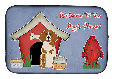 Dog House Collection Brittany Spaniel Dish Drying Mat