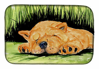 Carolines Treasures  SS8526DDM Chow Chow Dish Drying Mat