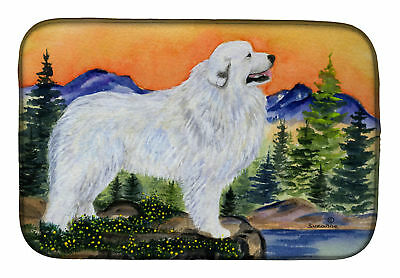 Carolines Treasures  SS8183DDM Great Pyrenees Dish Drying Mat
