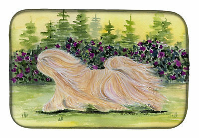 Carolines Treasures  SS8328DDM Lhasa Apso Dish Drying Mat