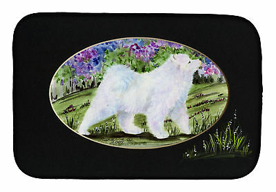 Carolines Treasures  SS8059DDM Samoyed Dish Drying Mat