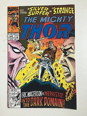 The Mighty Thor #443 Late Jan UK 65p