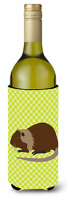 Coypu Nutria River Rat Green Wine Bottle Beverge Insulator Hugger
