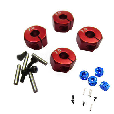 New RC Car Wheel Hex Drive Hub Adapter Kit Fit For 1/10 RC4WD Axial SCX10 Part