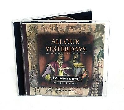 All Our Yesterdays - FASHION & COSTUME - Stock Photography Historic Illustration