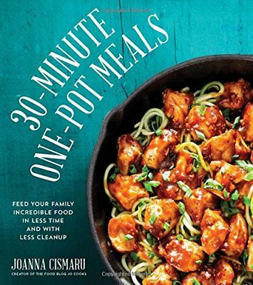 30 Meals 30 Minutes By Joanna M Lund Hardcover 185 Pages 1997