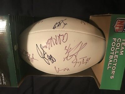 2011 Green Bay Packers Autograph Football From Training Camp