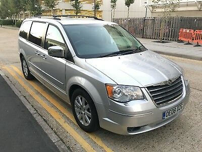 *£6500* 2008 Chrysler Grand Voyager 2.8 CRD LTD Diesel Auto 7 Seater Automatic