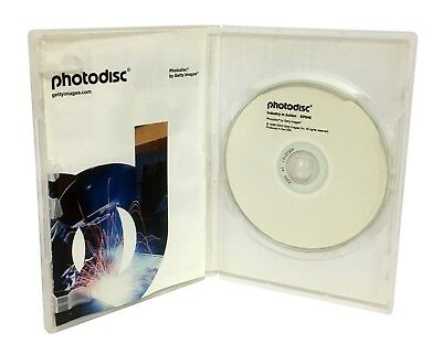 PhotoDisc - INDUSTRY IN ACTION EP045 - Stock Photography (Photo CD)