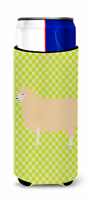 English Leicester Longwool Sheep Green Michelob Ultra Hugger for slim cans