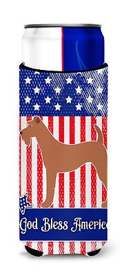 Irish Terrier American Michelob Ultra Hugger for slim cans