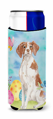 Brittany Spaniel Easter Michelob Ultra Hugger for slim cans