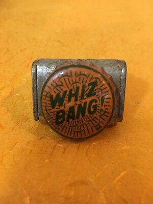 Whiz Bang! soda bottle crown cap used cork lined
