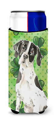 Shamrocks English Pointer Michelob Ultra Hugger for slim cans