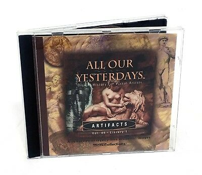 All Our Yesterdays - ARTIFACTS - Stock Photography CD (Historical Images, Vol 5)