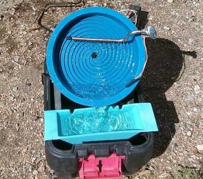 Desert Fox Variable Speed Automatic Gold Panning Machine For Prospecting Mining