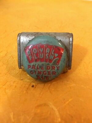 Royal Flush Pale Dry Ginger ale soda pop bottle crown cap Portland OR Oregon