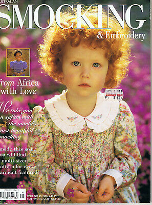 Australian Smocking & Embroidery Magazine issue 45 RARE OUT OF PRINT