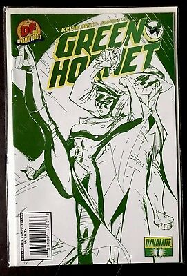 Dynamic Forces Green Hornet Cool Green Exc J. Scott Campbell COA Smith Lau