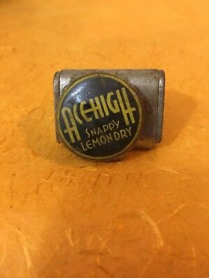 Ace High Snappy Lemon Dry soda pop bottle crown cap Alberts Portland OR Oregon