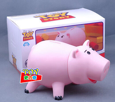 Kids Toy Story Hamm Piggy Bank Coin Money Box Deposit Pig Figure With Box Gift