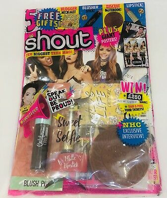Shout Magazine #576 With AMAZING FREE GIFTS! (NEW)