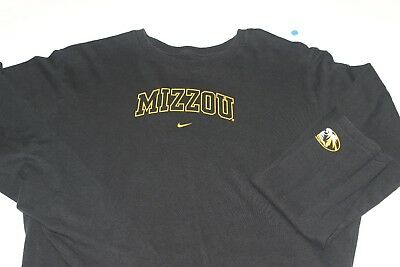 New Nike Mizzou Tigers Women's new XL Jersey Fan Tee Longsleeve
