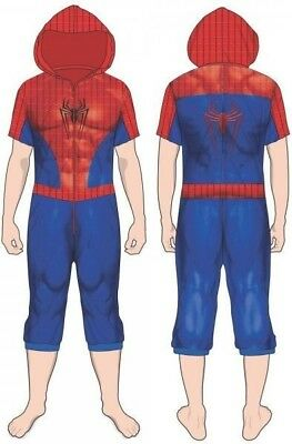 Marvel: Spider-Man Cropped - Union Suit (Small)