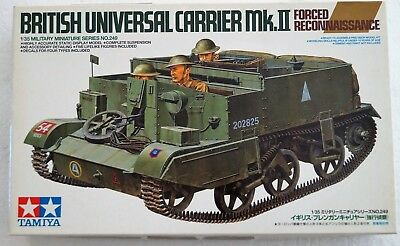 35249 Tamiya 1/35 British Universal Carrier Mk.II Forced Reconn Model Kit