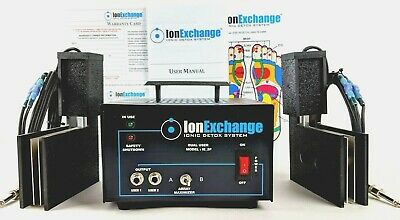 IonExchange Detox Pro Quad Plate Ion Ionic Foot Bath Foot Detox Spa Machine