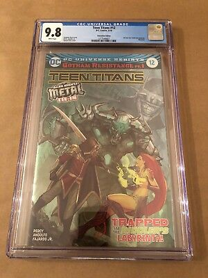 Teen Titans #12 CGC 9.8 Convention Edition/Foil Cover!!! First Batman Who Laughs