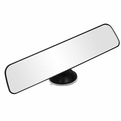 Panoramic Rear view Mirror Universal Wide Angle with Suction Installation