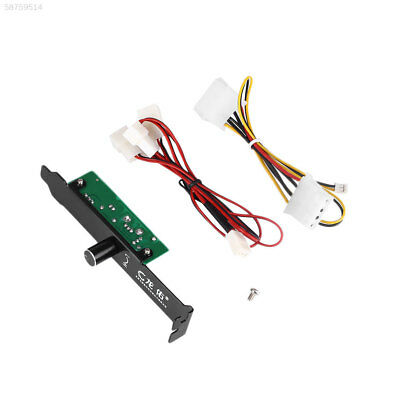 1DEE 3 Channels PC 3 Pin Cooling Fan Port Connector Controller For CPU Case DDR