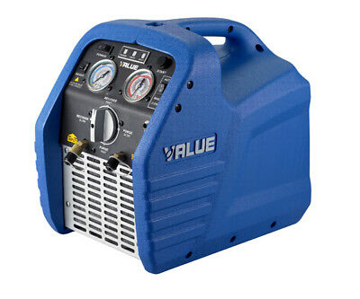 Value Refrigerant Recovery Unit With Filter & Hose - 1/2 Hp - Vrr12A Sv99