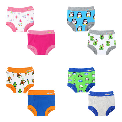 Ez Undies 2 Packs babies Pull Up Padded Briefs Toddler Training Pants size 2T 3T