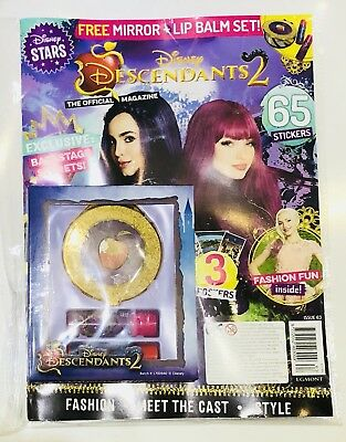Disney DESCENDANTS 2 OFFICIAL MAGAZINE With AMAZING FREE GIFTS! (BRAND NEW!)