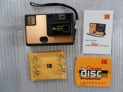 Kodak Disc Camera 3100 with new film