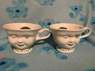 2 Baileys Irish Cream Set Limited Edition Winking Women Cup Helen Hunt LA youth
