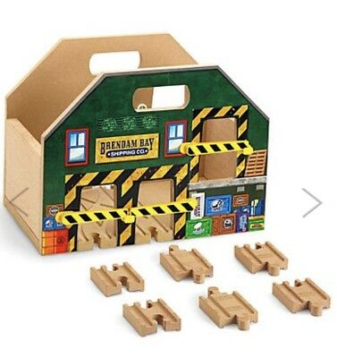 Thomas and Friends Wooden Railway Carry All With Track Pieces